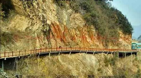 五道峡栈桥景观