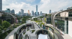 以花园为中心的广州 Parc 中心建筑设计