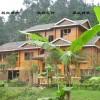 黔东南侗族木屋别墅景观