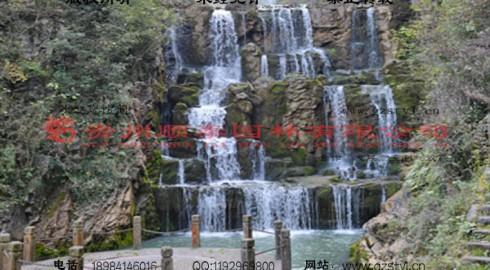 湖北襄阳五道峡景区假山景观