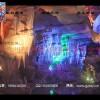 山东泰安地下裂谷千亿国际娱乐官网qy966灯光亮化景观