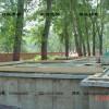 轻型木屋别墅建造过程景观