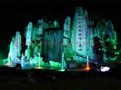 塑石假山-贵州黔南州4